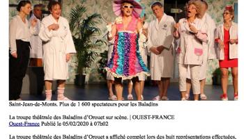 Ouest France du 05/02/2020