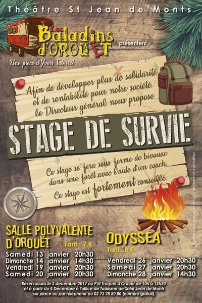 2018 - Stage de Survie