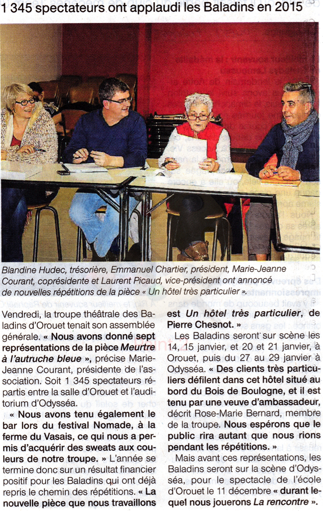 Ouest France 18-10-2016