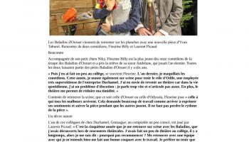 Ouest France du 17-01-2018