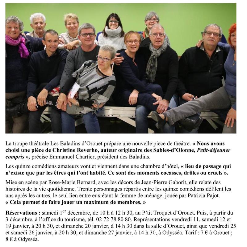 Ouest France du 01-12-2018