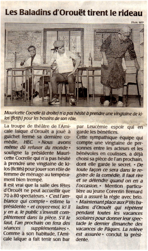 Saison 2006-2007 - Article 2