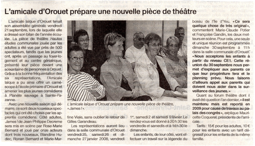 Saison 2007-2008 - Article 1