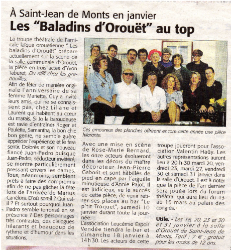 Saison 2007-2008 - Article 3