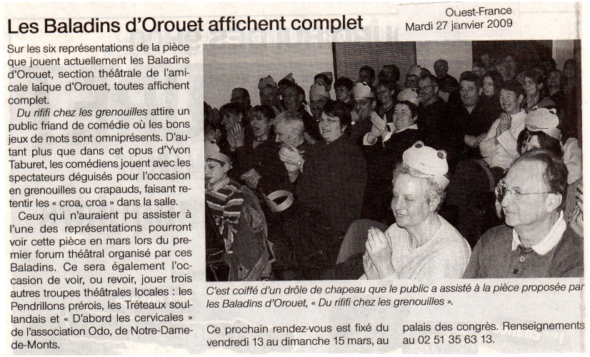 Saison 2008-2009 - Article 2