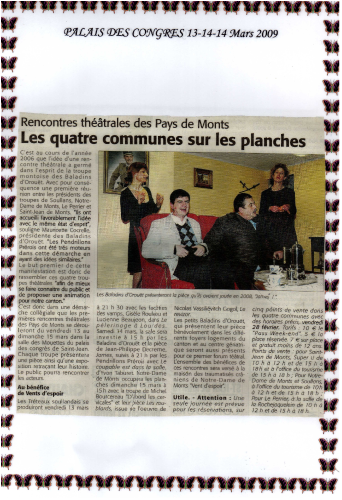 Saison 2008-2009 - Article 3