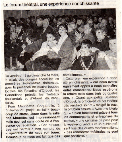 Saison 2008-2009 - Article 6