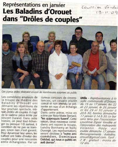 Saison 2009-2010 - Article 2