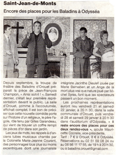 Saison 2010-2011 - Article 2