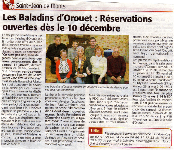 Saison 2011-2012 - Article 1