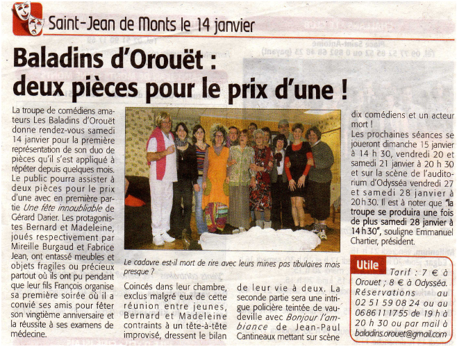 Saison 2011-2012 - Article 2