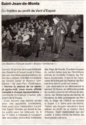 Saison 2011-2012 - Article 4