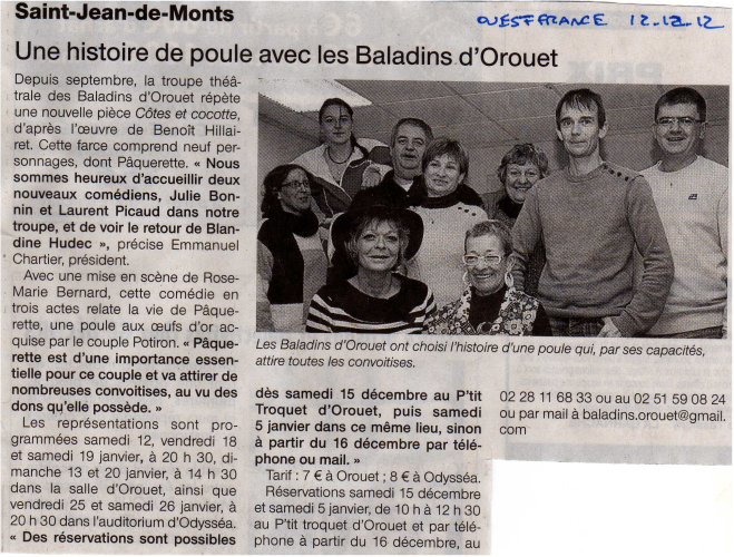 Saison 2012-2013 - Article 3