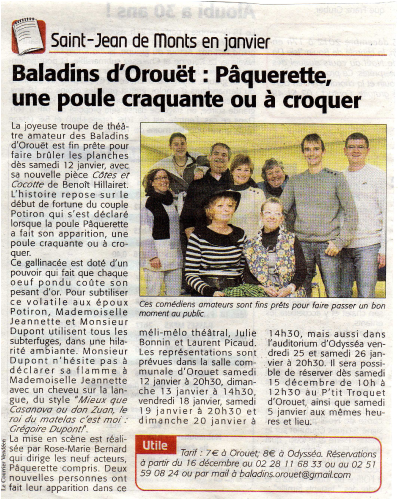 Saison 2012-2013 - Article 4