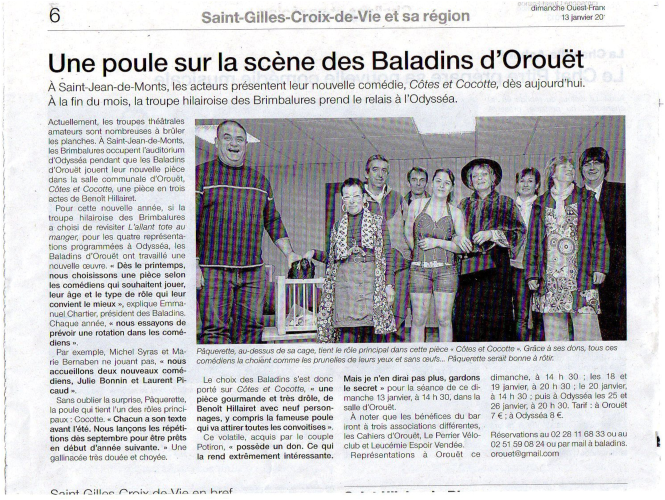 Saison 2012-2013 - Article 5