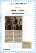 Saison 2001-2002 - Article 1