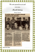 Saison 2003-2004 - Article 2