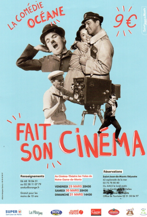 La Comédie Océane fait son Cinéma