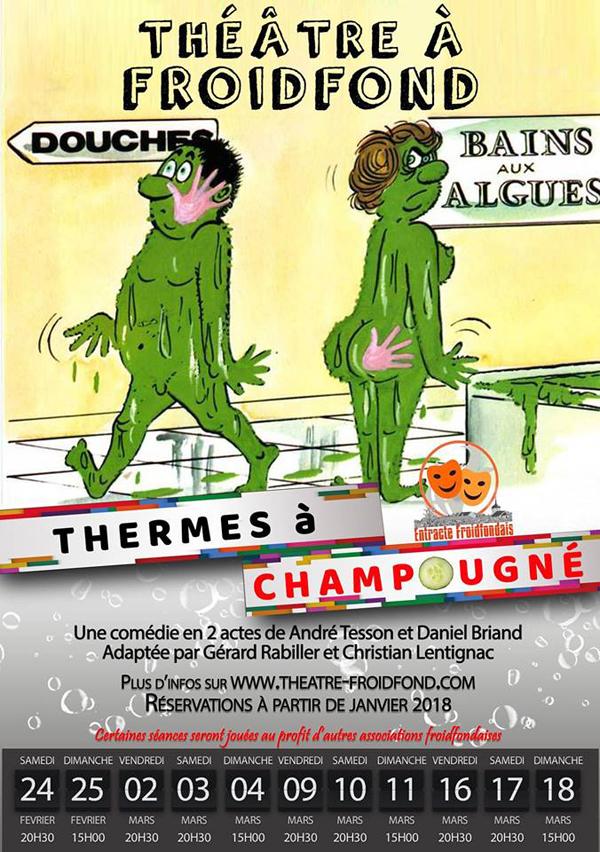 Thermes à Champougné